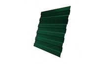 Профнастил С21 0,4 PE RAL 6005 зеленый мох 2000 мм
