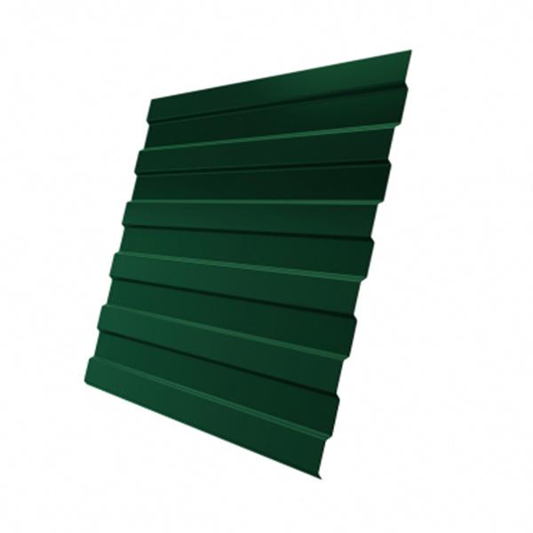 Профнастил С21 0,4 PE RAL 6005 зеленый мох 3000 мм
