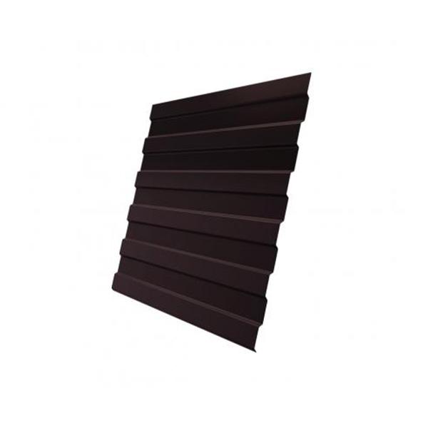 Профнастил С21 0,4 PE RAL 8017 шоколад 2000 мм